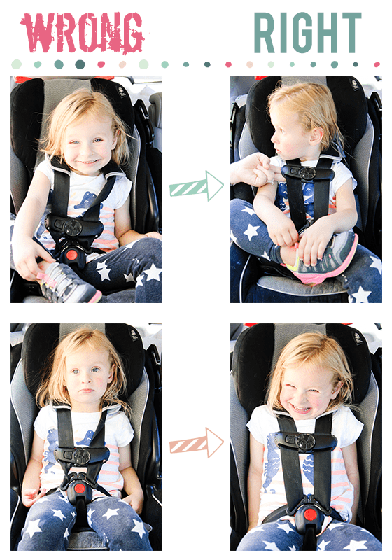 Proper Car Seat Strap Placement Brokeasshome