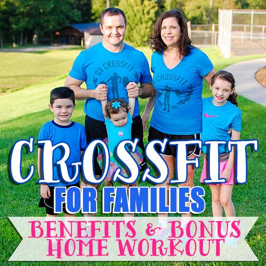 Crossfit For Families Benefits & Bonus Home Workout2