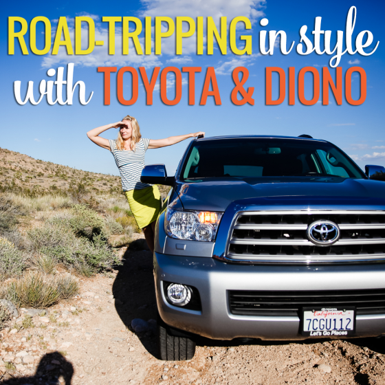 road tripping in style with toyota and diono