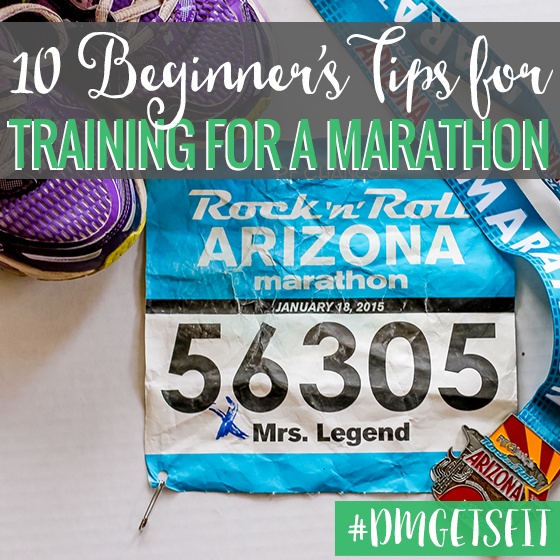 10 beginners tips for training for a marathon