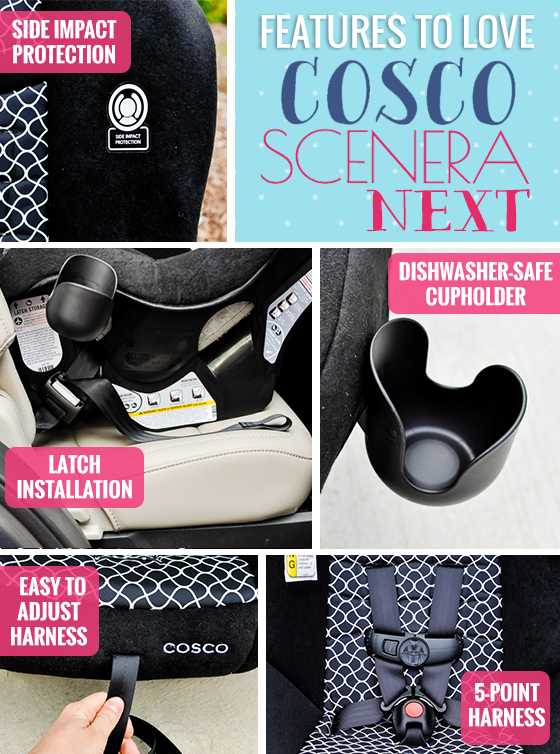 Gear Guide - Cosco Scenera Next Convertible Car Seat 4 Daily Mom Parents Portal