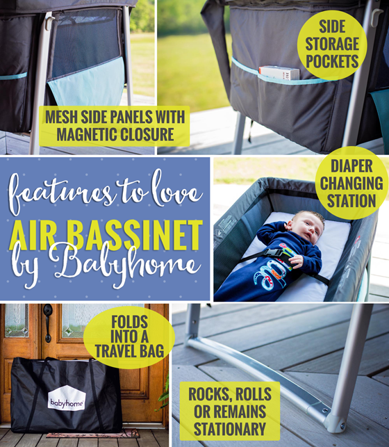 GEAR GUIDE: AIR BASSINET BY BABYHOME 8 Daily Mom Parents Portal
