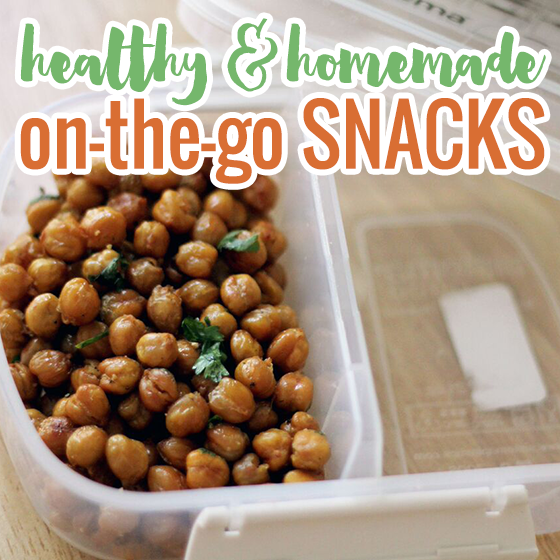Healthy Homemade on the Go Snacks 5 Daily Mom Parents Portal
