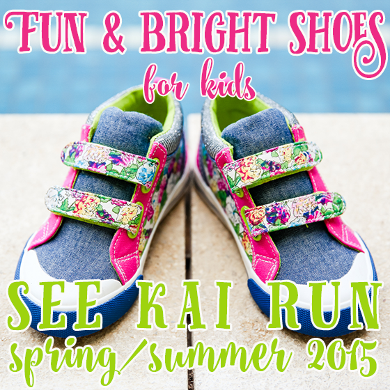 Fun & Bright Shoes for Kids: See Kai Run S/S 2015 1 Daily Mom Parents Portal