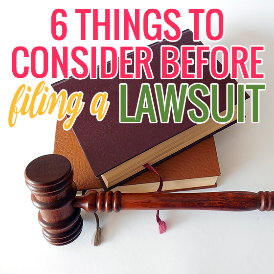 6 Things to Consider Before You File a Lawsuit 1 Daily Mom Parents Portal