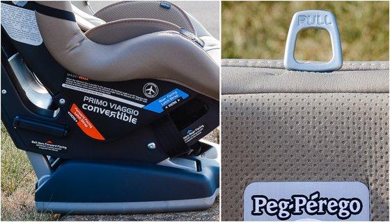 CAR SEAT GUIDE: PEG PEREGO PRIMO VIAGGIO CONVERTIBLE CAR SEAT 8 Daily Mom Parents Portal