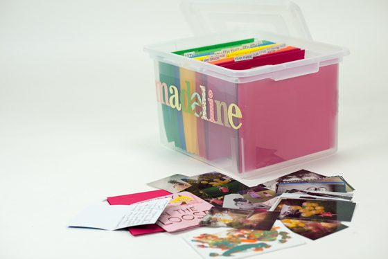 Keepsake Bins: Organizing Your Child's School & Art Work 4 Daily Mom Parents Portal