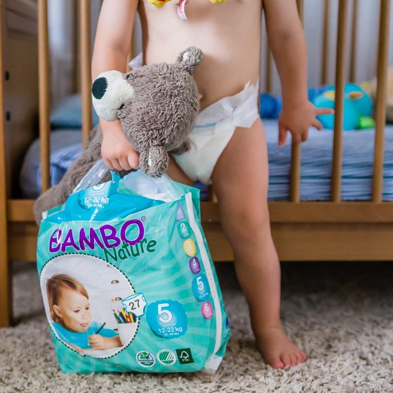 Safe and Eco-Friendly Diapers: Bambo Nature 5 Daily Mom Parents Portal