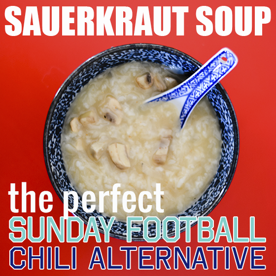 SAUERKRAUT SOUP – THE PERFECT SUNDAY FOOTBALL CHILI ALTERNATIVE 1 Daily Mom Parents Portal