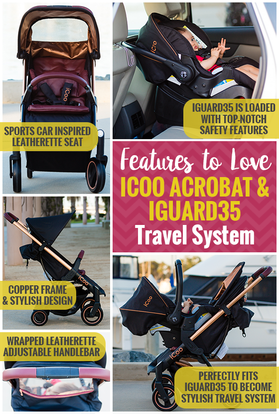 Stroller Guide: iCoo Acrobat and iGuard35 Travel System 13 Daily Mom Parents Portal