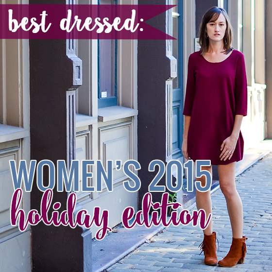 BEST DRESSED: WOMEN'S 2015 HOLIDAY EDITION 1 Daily Mom Parents Portal