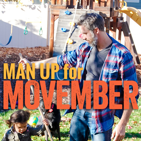 MAN UP FOR MOVEMBER 4 Daily Mom Parents Portal