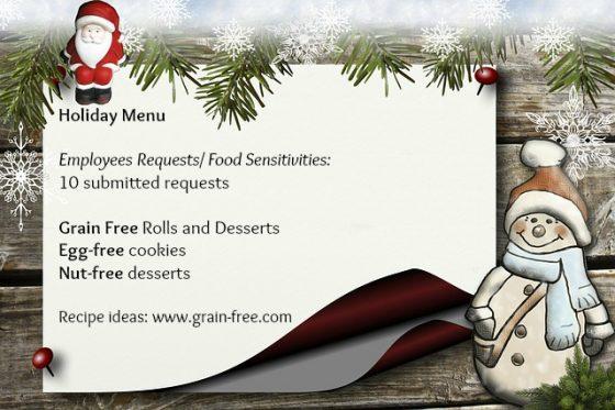 3 Ways To Enjoy Holiday Parties With Food Sensitivities