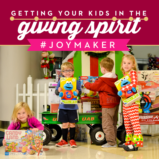 GETTING YOUR KIDS IN THE GIVING SPIRIT 5 Daily Mom Parents Portal