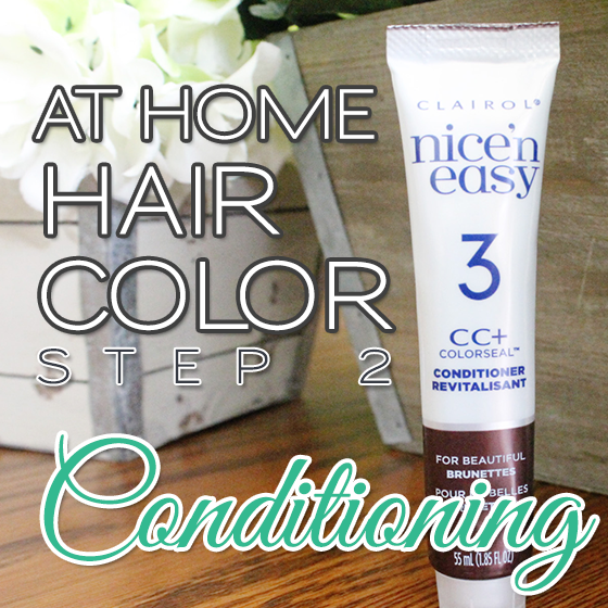 AT HOME HAIR COLOR STEP 2 CONDITIONING