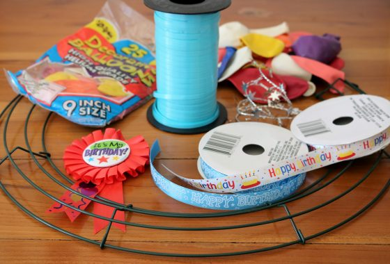 How to Make A Birthday Balloon Wreath 1 Daily Mom Parents Portal