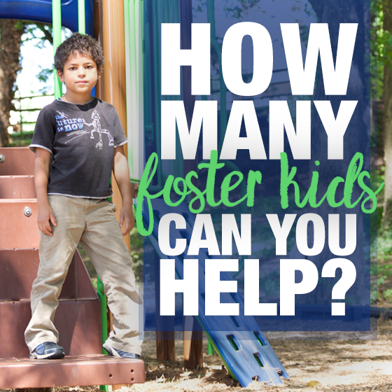 How Many Foster Kids Can You Help? 1 Daily Mom Parents Portal