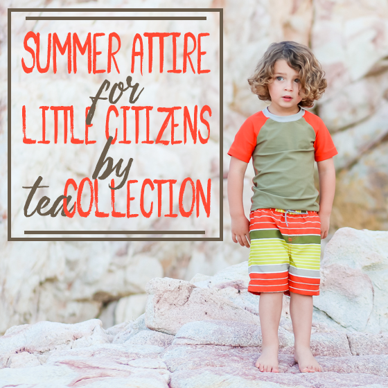 Summer Attire for Little Citizen by Tea Collection 15 Daily Mom Parents Portal
