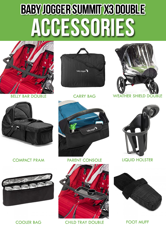 GEAR GUIDE BABY JOGGER SUMMIT X3 DOUBLE STROLLER 12 Daily Mom Parents Portal