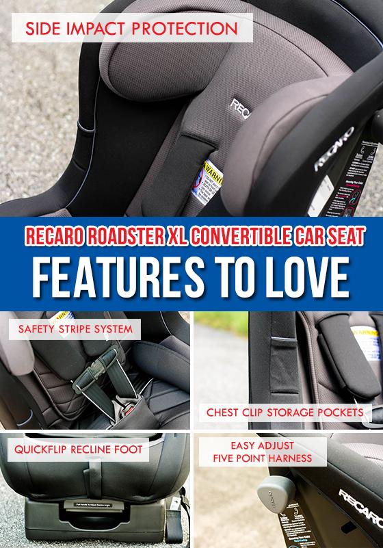CAR SEAT GUIDE RECARO ROADSTER XL CONVERTIBLE CAR SEAT 11 Daily Mom Parents Portal