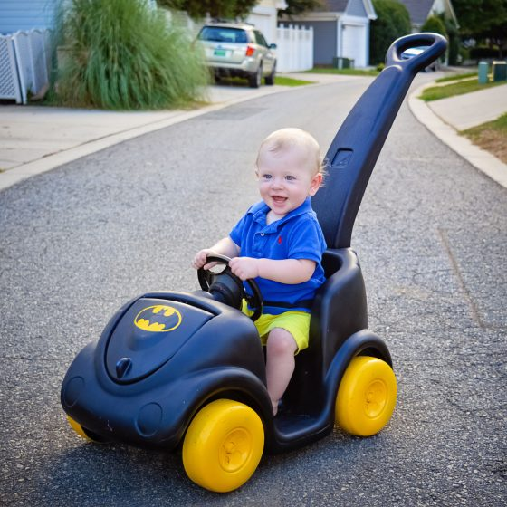 From Driving Miss Daisy to BATMAN: DIY A Pink Push Car to a Batmobile 7 Daily Mom Parents Portal