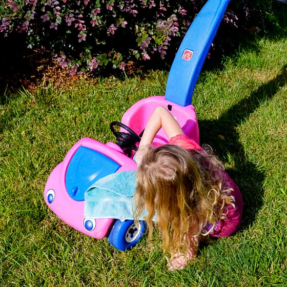 From Driving Miss Daisy to BATMAN: DIY A Pink Push Car to a Batmobile 3 Daily Mom Parents Portal