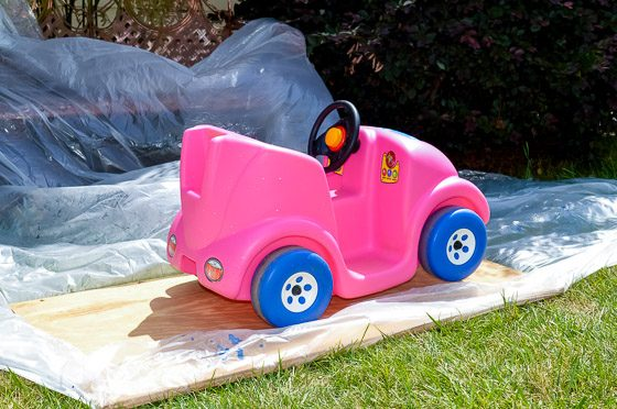 From Driving Miss Daisy to BATMAN: DIY A Pink Push Car to a Batmobile 4 Daily Mom Parents Portal