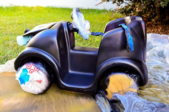 From Driving Miss Daisy to BATMAN: DIY A Pink Push Car to a Batmobile 5 Daily Mom Parents Portal