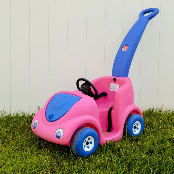 From Driving Miss Daisy to BATMAN: DIY A Pink Push Car to a Batmobile 2 Daily Mom Parents Portal