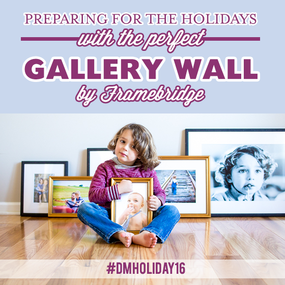 Preparing for the Holidays with the Perfect Gallery Wall by Framebridge 10 Daily Mom Parents Portal