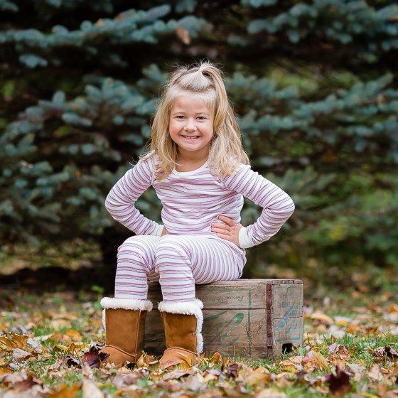 Cozy Autumn & Winter Jammies from Skylar Luna 6 Daily Mom Parents Portal