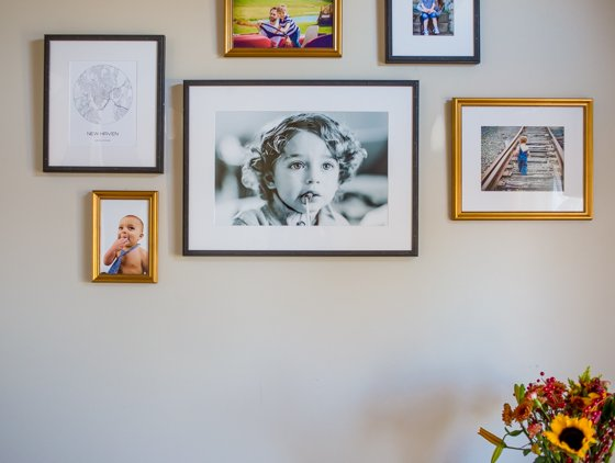 Preparing for the Holidays with the Perfect Gallery Wall by Framebridge 1 Daily Mom Parents Portal