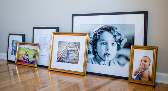 Preparing for the Holidays with the Perfect Gallery Wall by Framebridge 3 Daily Mom Parents Portal
