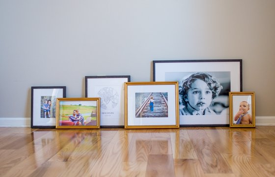 Preparing for the Holidays with the Perfect Gallery Wall by Framebridge 6 Daily Mom Parents Portal