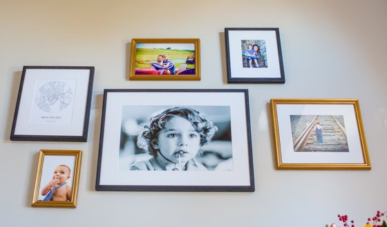 Preparing for the Holidays with the Perfect Gallery Wall by Framebridge 5 Daily Mom Parents Portal