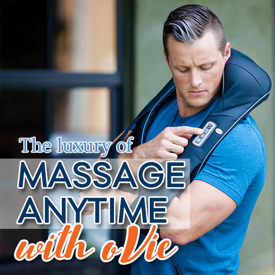 THE LUXURY OF MASSAGE ANYTIME WITH OVIE 7 Daily Mom Parents Portal