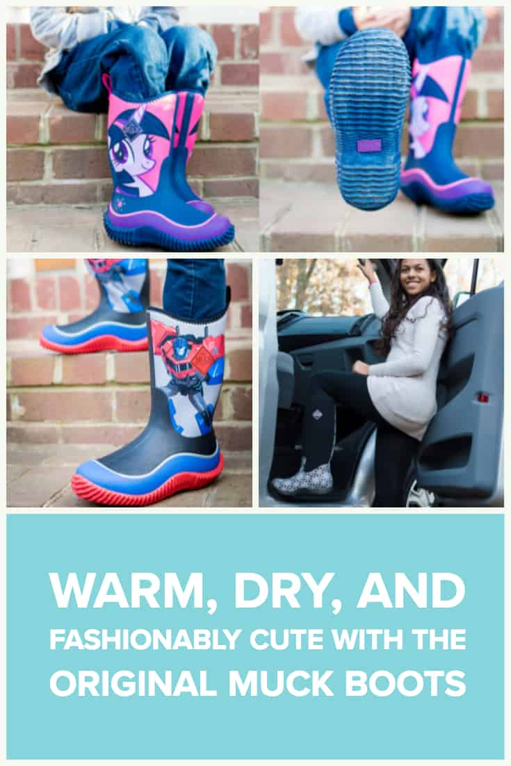 Warm, Dry, And Fashionably Cute With the Original Muck Boots 14 Daily Mom Parents Portal