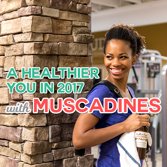 A Healthier You in 2017 with Muscadines 1 Daily Mom Parents Portal