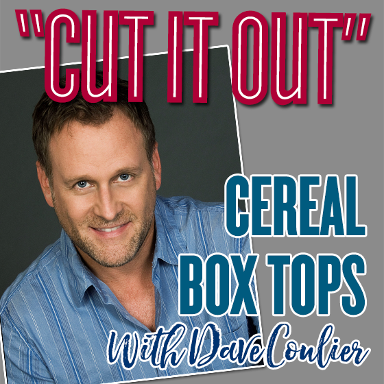 Cut It Out Cereal Box tops With Dave Coulier 1 Daily Mom Parents Portal