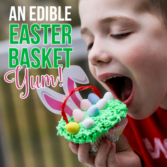 An Edible Easter Basket: Yum! 1 Daily Mom Parents Portal