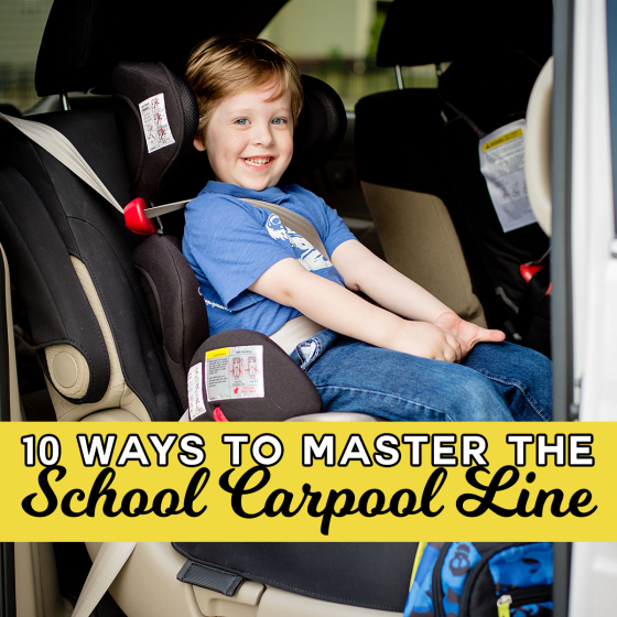 10 Ways to Master the Carpool Line 1 Daily Mom Parents Portal