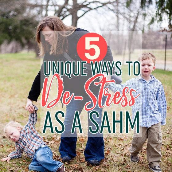 5 Unique Ways To De-Stress As A SAHM 1 Daily Mom Parents Portal
