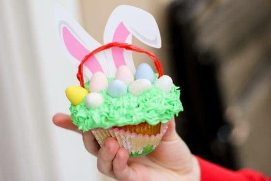 An Edible Easter Basket: Yum!