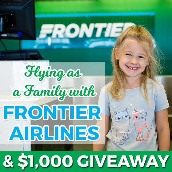 Flying as a Family with Frontier Airlines and $1,000 Giveaway 1 Daily Mom Parents Portal