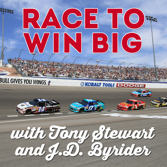 Race to Win Big with Tony Stewart and J.D. Byrider 5 Daily Mom Parents Portal