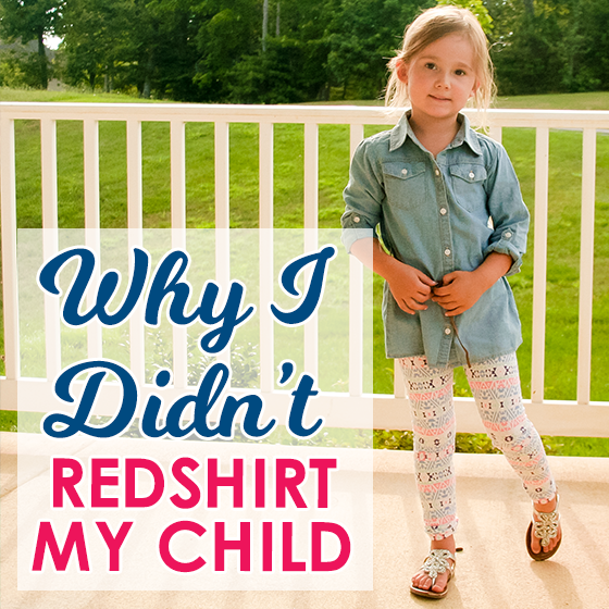 Why I Didn't Redshirt My Child 1 Daily Mom Parents Portal