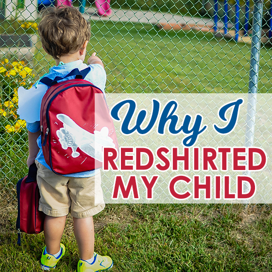 Why I Did Redshirt My Child 1 Daily Mom Parents Portal