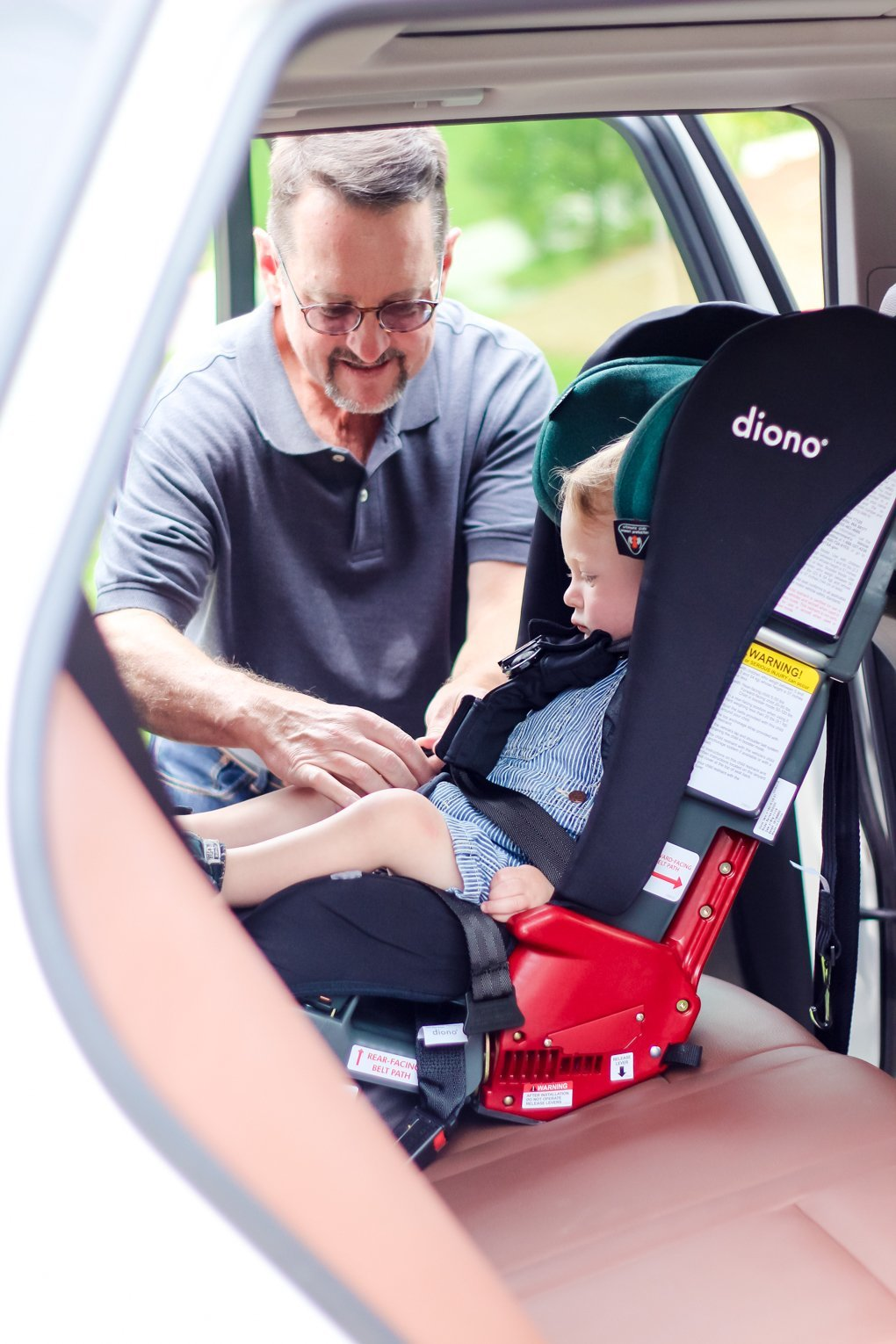 GRANDPARENT CAR SEAT MYTHS DEBUNKED WITH DIONO RAINIER 4 Daily Mom Parents Portal
