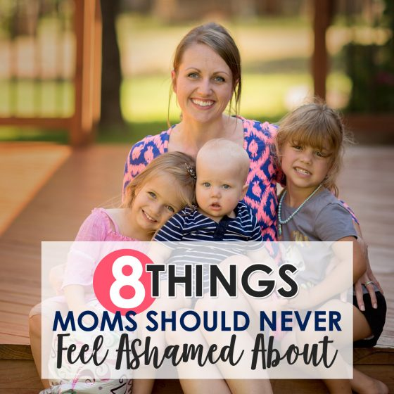 8 THINGS MOMS SHOULD NEVER FEEL ASHAMED ABOUT 6 Daily Mom Parents Portal