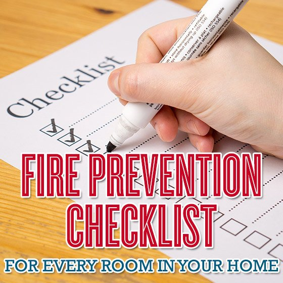Fire Prevention Checklist for Every Room in Your Home 1 Daily Mom Parents Portal